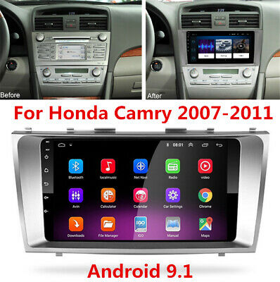 """Gray Android Radio 9"""" Stereo MP5 GPS Navigation 2GB+32GB For 07-11 Toyota Camry"""