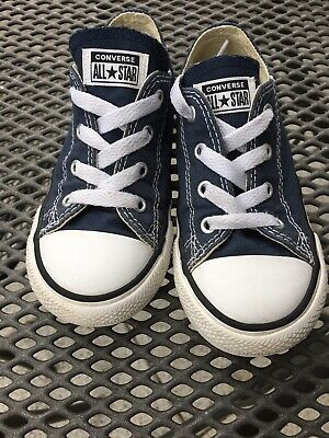 CONVERSE ALL STAR Chucks Low Gr. 22 23 Blau Grau w. Neu