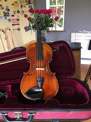 Beautiful Franz Sandler  3/4 Violin And Bow With Case.