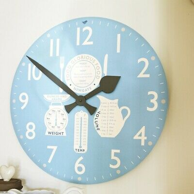 Newgate Weights and Measures Kitchen Wall Clock - Perfect Condition - Ex-display