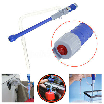 Liquid Transfer Electric Siphon Pump Hand Gas Oil Water Fishbowl Battery Power