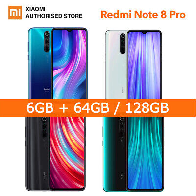 Xiaomi Redmi Note 8 Pro /9T Pro 64/128GB Octa Core 4G Smartphone Global Version