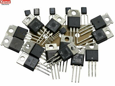 TRIAC assortment selection Kemo S107 Mixed Values 20pc