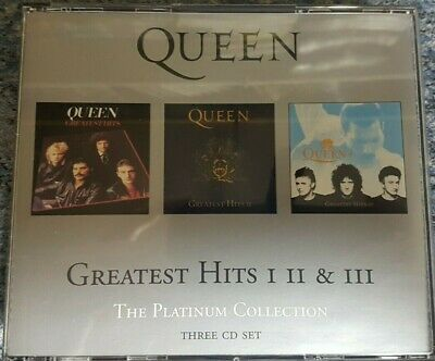 QUEEN - The Collection - Very Best Of - Greatest Hits 1-3 (1 2 3) CD