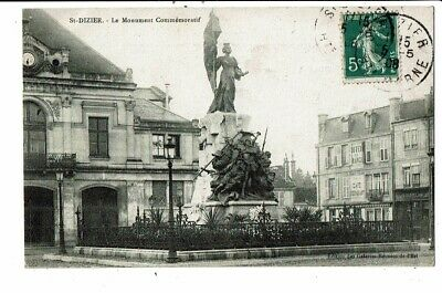 CPA-Carte Postale-FRANCE -Saint Dizier - Monument Commémoratif en 1908 VM7937