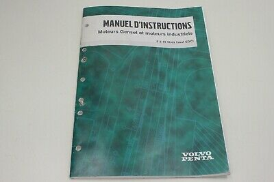 VOLVO manuel d instructions moteurs Werkstatthandbuch Service Manual