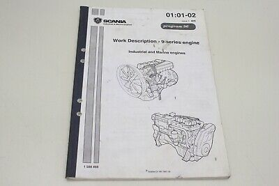 SCANIA 9 series engine Werkstatthandbuch Service Manual 1588468