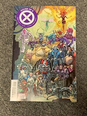 House Of X #6 2919 Javi Garron Connecting Variant Marvel Vf/Nm