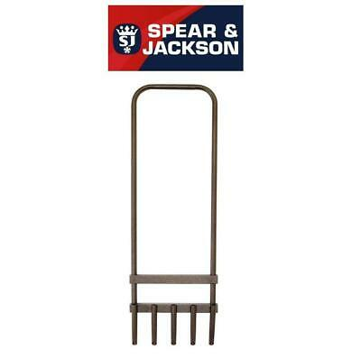 Spear & Jackson Prong Grass Lawn Aerator Plant Growth Outdoor Garden Hollow Tine