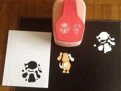 """Dovecraft LARGE Paper Punch - dog 2 1/8"""""""
