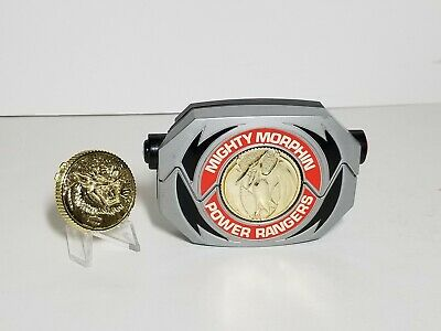 Vintage 1991 Mighty Morphin Power Rangers Morpher, with 2 Coins - Working!