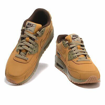AIR MAX 90 Mens Womens Brown Color Classic Trainers Sneaker Sports Running Shoes