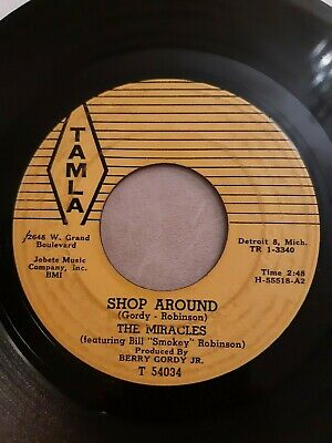 The Miracles -  Shop Around - Tamla Records 1003