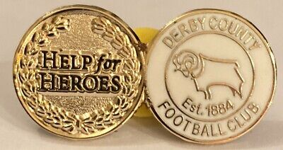 DERBY COUNTY Club And Country Collectable Football Pin Badge Great For November