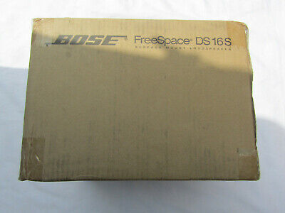 Bose Professional FreeSpace DS 16S Loudspeaker White New