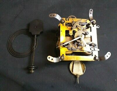 Antique Clock Movement inc. Pendulum - Hands - Chime