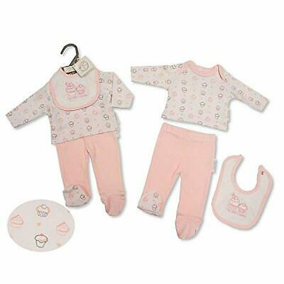 BNWT Tiny Premature Preemie Baby Girl clothes 3 piece outfit set 3-5lb & 5-8lb