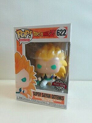 Funko Pop!: Dragonball Z - Super Saiyan Gotenks Spec.ed. #622 *Uk Stock*
