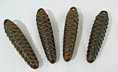 4 German Black Forest Cuckoo Clock Weights