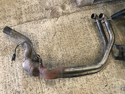 BMW F800GS  Exhaust Manifold Down Pipe System Genuine