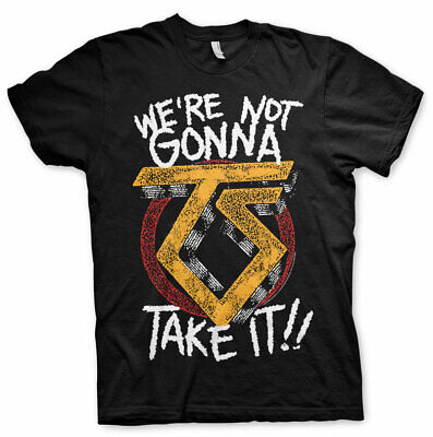 Officially Licensed Twisted Sister - We're Not Gonna Take It Men's T-Shirt S-XXL