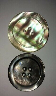 Antique Vtg Mother Of Pearl Buttons