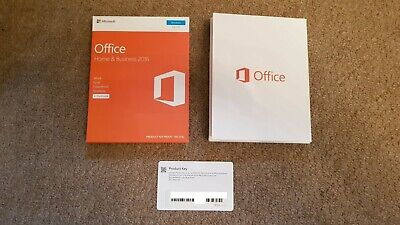 Microsoft Office Home & Business 2016 Medialess T5D-02826 Genuine Boxed #1