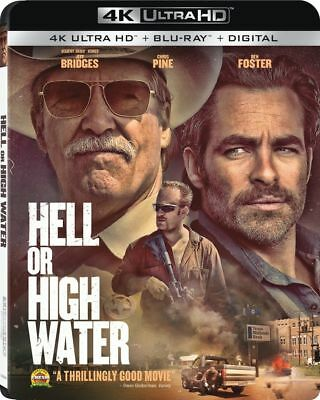 Hell Or High Water 4K Ultra Hd Blu-Ray Brand New & Sealed