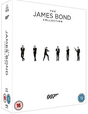 The James Bond 007 24 Film Collection Bluray Includes Spectre No Uv Codes