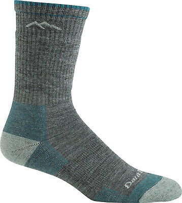NEW 1698 GRAY DARN TOUGH Knee High Light Cushion Womens Run Socks S M L Wool