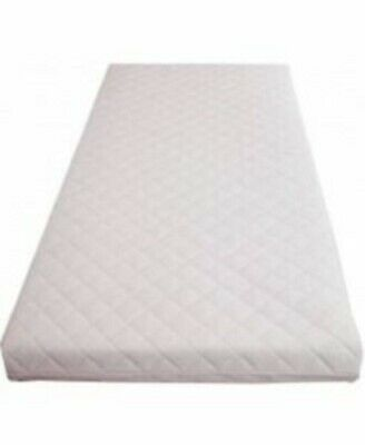 Baby Toddler Cot Bed Breathable QUILTED & WATERPROOF Foam Mattress All UK Sizes