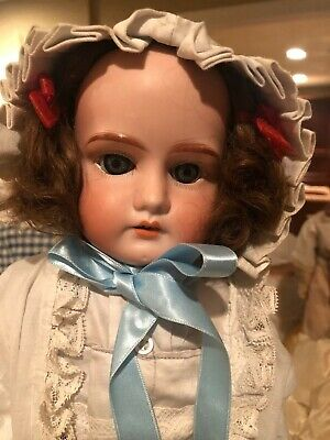 "Marseille 19"" Antique Bisque doll, Mabel 4/0"