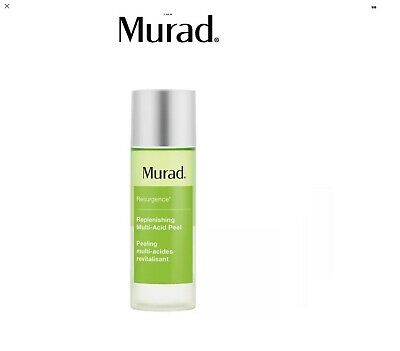 New Murad Resurgence Replenishing Multi Acid Peel 3.3oz / 100ml No box