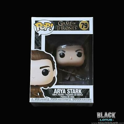 Funko Pop! Arya Stark Two Headed Spear Season 8 Game of Thrones IN STOCK Pop 79