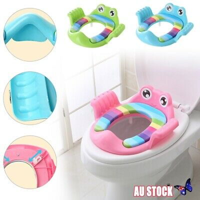 Potty Training Seat For Kids Toddlers Boys Girls Toilet Seat with Cushion