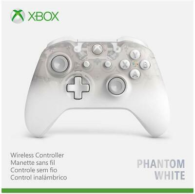 Xbox One Wireless Controller Phantom WHITE (Xbox One) + 2 AA batteries *SEALED*