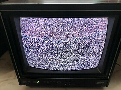 "Vintage 13"" Zenith System 3 Television Model SD1327Y *TESTED WORKING*"