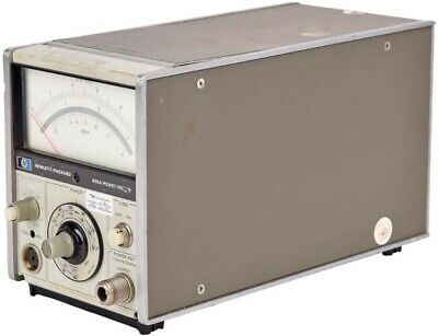 HP 435A Portable -65dBm To +44 dBm Full Scale 100kHz to 50GHz Analog Power Meter