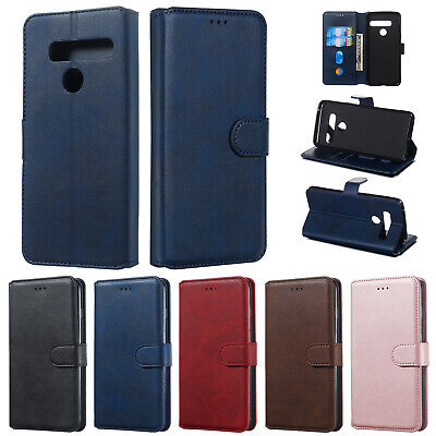 For LG G8 ThinQ Stylo5 V30 V50 K50 Luxury Wallet Leather Case Card Slots Cover