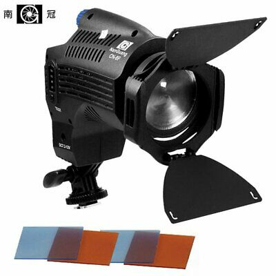 Nanguang CN-8F 8W Dimmable LED Video Fresnel Light Lighting Studio For Camera
