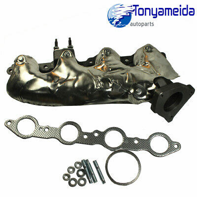 Pair Exhaust Manifold Left Right Side W// Gasket For Silverado Escalade Savana