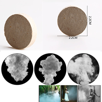 10Pcs Smoke Cake White Bomb Effect Show For Photography Stage Aid Props Toy Z4K5