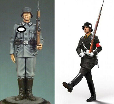 1/35 Resin WWII German Soldier on Guard +Goose Step Unpainted unassembled