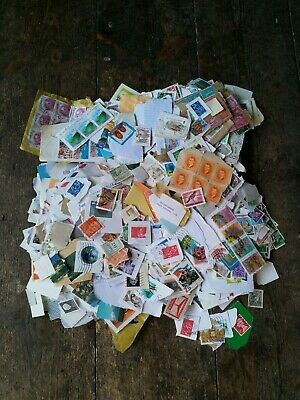 425g Worldwide Collection Used Franked Stamps On & Off Paper Kiloware