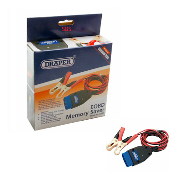 Draper EMS EOBD ECU/Trip/Radio Memory Code Saver For Battery Removal 22231