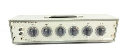 Yokogawa 2786 Six-Dial Wide Range 0.1 to 1,111,110 Ohms Decade Resistance Box