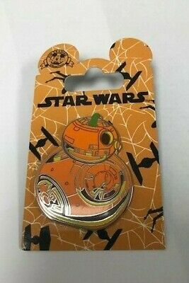 BB-8 Pumpkin Star Wars Halloween Disney Pin