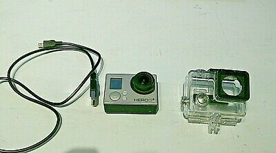 GoPro HERO 3+ Plus Silver Edition 1080P 10MP HD with waterproof case,NO RESERVE