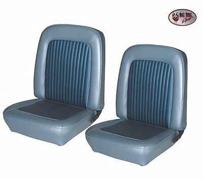 1968 Mustang CONVERTIBLE Front & Rear Seat Upholstery Blue - Made by TMI