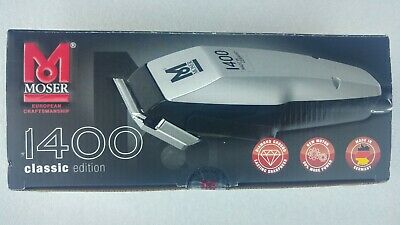 Hair Clipper Clippers Moser 1400 Edition B-Ware shearing machine Made in Germany